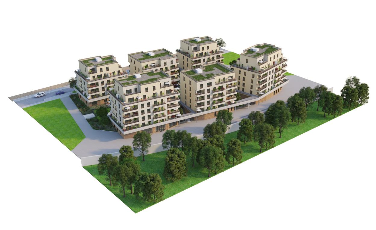 Villa Diana Programme Immobilier Neuf Saint Germain En Laye Franco Suisse Batiment